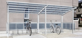 サイクルポートは自転車置き場 ...